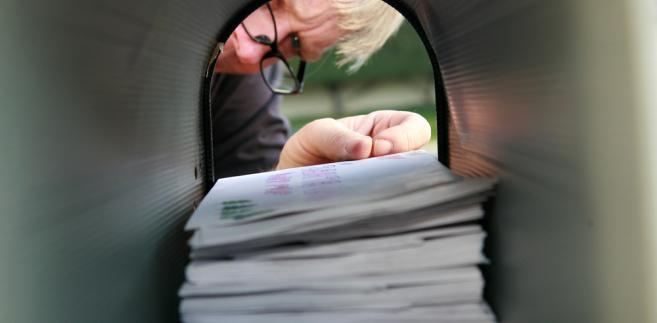ZUS w ciągu roku wysyła około 60 mln listów do osób indywidualnych i instytucji.