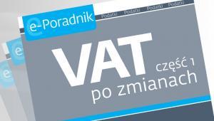 VAT część 1 po zmianach