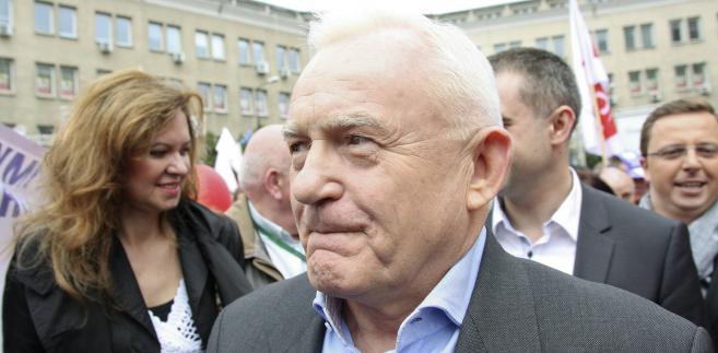 Przewodniczący SLD Leszek Miller