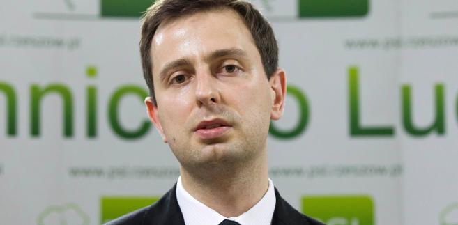 Władysław Kosiniak-Kamysz, minister pracy i polityki społecznej
