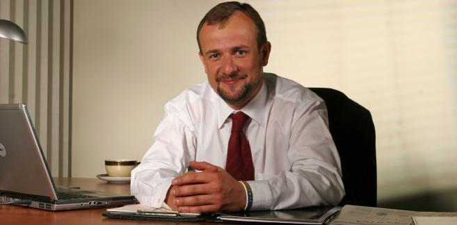 Paweł Rybiński, adwokat, dziekan ORA w Warszawie.