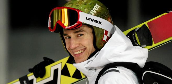 Kamil Stoch podczas Igrzysk Olimpijskich w Soczi