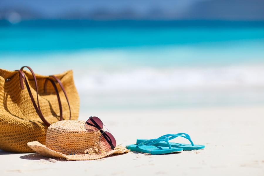 plaża, morze, wakacje