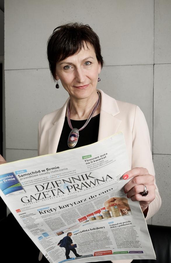 Okładka Gazety Prawnej z grudnia 1995 roku.