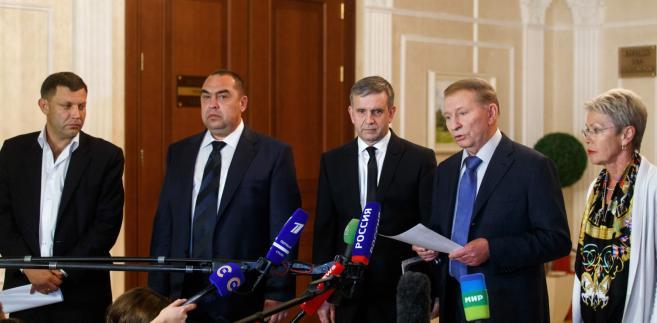 Spotkanie w Mińsku. Fot. EPA/STRINGER