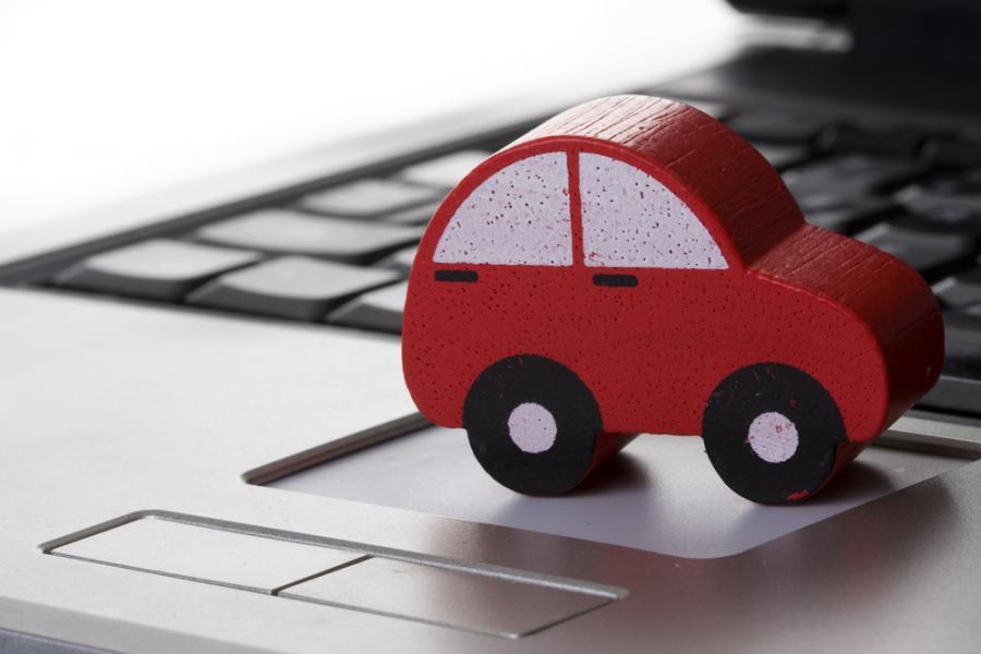 samochód, internet
