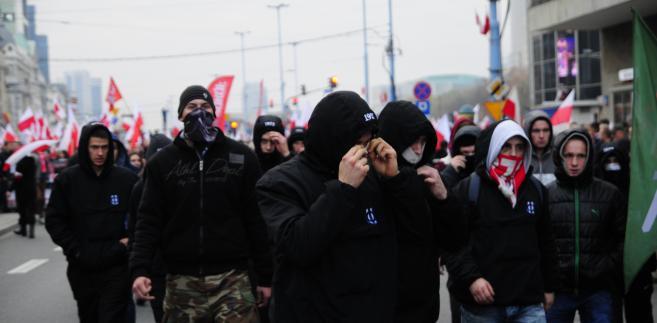 Marsz Niepodległości. Fot. Maciek Suchorabski