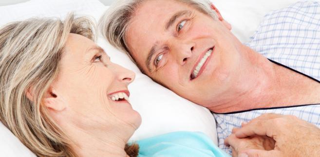 senior związek miłość
