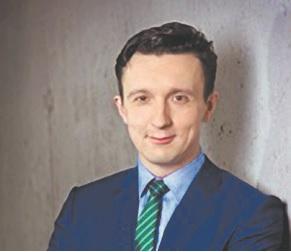 Karol Kamiński radca prawny w kancelarii Krynicki, Dajczer, Kamiński