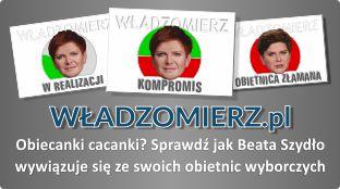 Władzomierz - oceń rządy Beaty Szydło