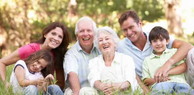 seniorzy rodzina