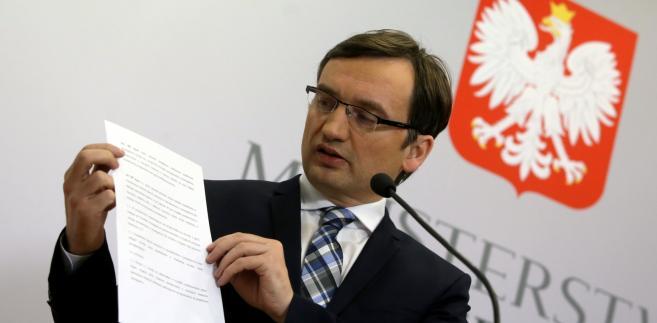 Ziobro o sprawach w TK: Prokuratura nie może uczestniczyć w fikcji
