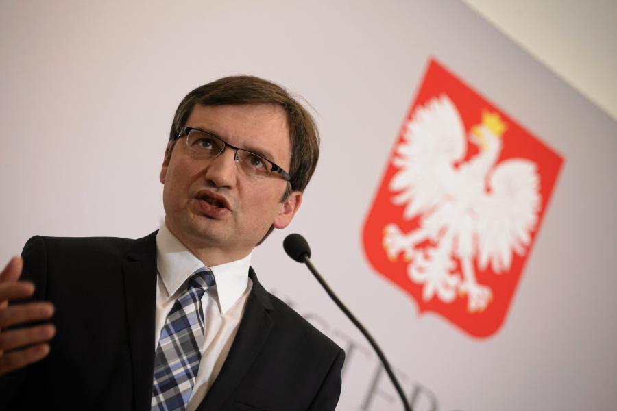 Minister Zbigniew Ziobro, Fot . Slawomir Kaminski / Agencja Gazeta