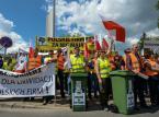 Warszawa: Protest branży śmieciowej przeciwko zmianom ws. odbioru odpadów
