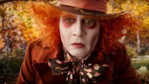 """Johnny Depp w filmie """"Alicja po drugiej stronie lustra"""""""
