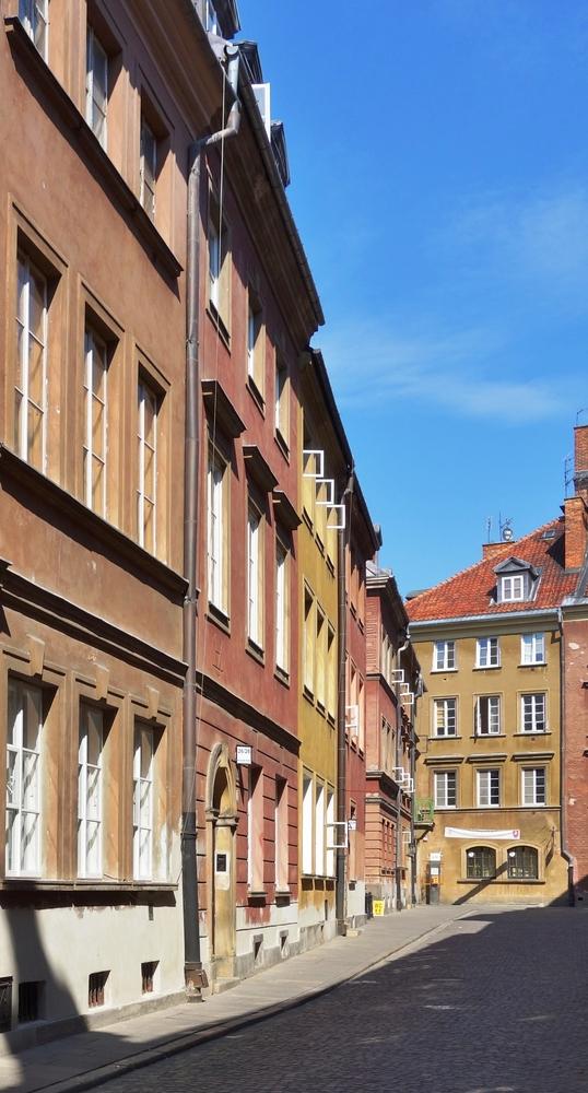 Warszawa kamienica