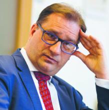 prof. Marek Kwiek przewodniczący zespołu UAM Fot. Rafał Siderski