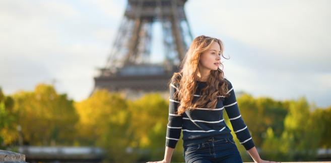 Paryż, kobieta, Francja