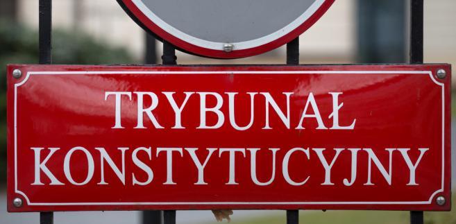Do Sejmu wpłynął w piątek projekt grupy posłów PiS nowelizujący ustawę o statusie sędziów TK