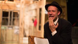 Ofiara w Teatrze WARSawy, Grzegorz Małecki jako Asa Leventhal