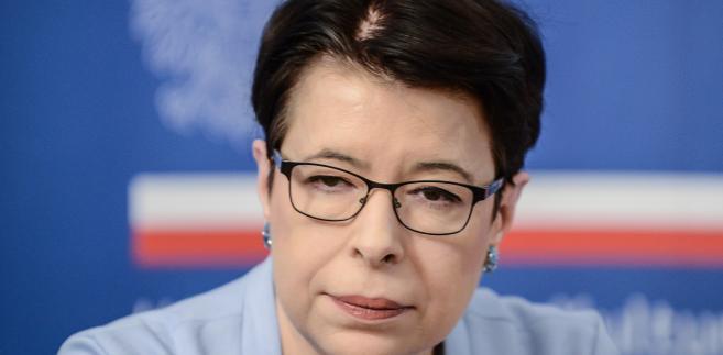 Wanda Zwinogrodzka krytyczka teatralna i literacka, od 2015 r. wiceminister kultury