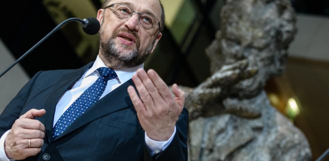 Lider SPD Martin Schulz