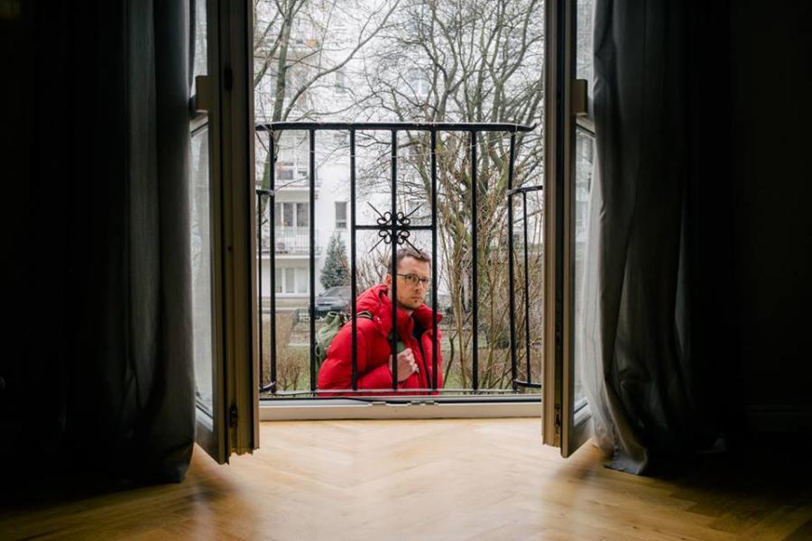 Krzysztof Berbeka. Fot: Maksymilian Rigamonti