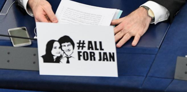 Debata w PE związana z zabójstwem dziennikarza Jana Kuciaka, 14 marca 2018 roku