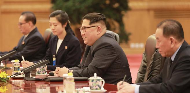 Kim Dzong Un przekazał najwyższym dygnitarzom swojej partii plany przyszłego dialogu z USA