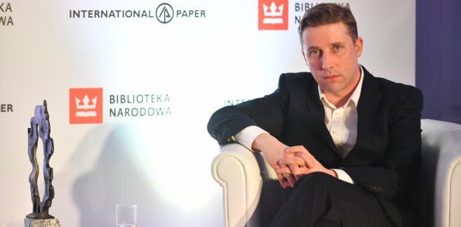 Paweł Sołtys został laureatem Nagrody Literackiej im. Marka Nowakowskiego.