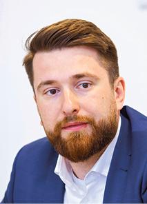 Piotr Marciniak dyrektor zarządzający pionem bankowości internetowej w Banku BGŻ BNP Paribas