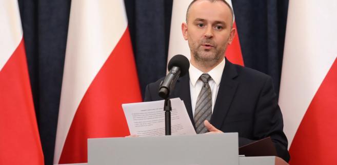 minister Paweł Mucha