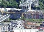 Władze w Genui korygują bilans katastrofy: 38 ofiar