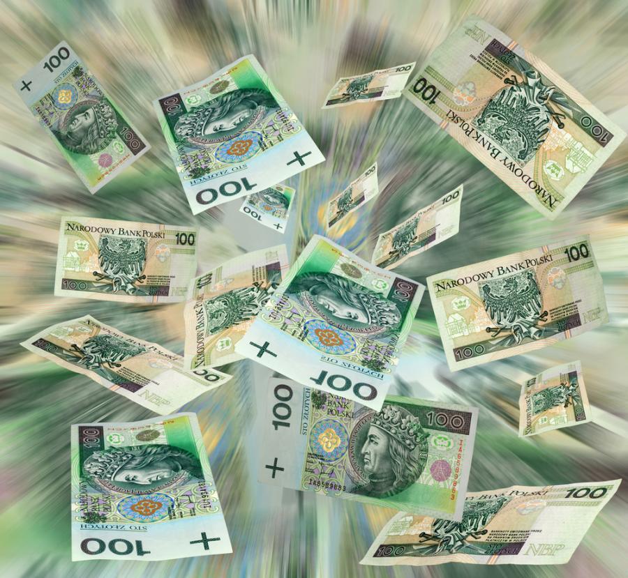 Pieniądze, podatki