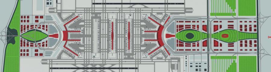 Plan nowego lotniska w Pekinie