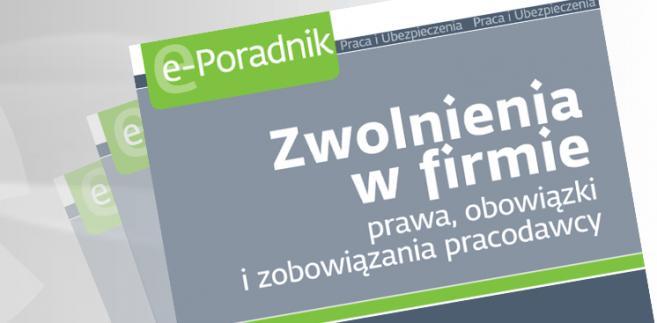 e-book: Zwolnienia w firmie