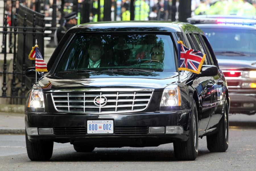 Pancerny samochód Obamy. (Bestia)