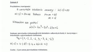 Rozwiązanie zadania 8