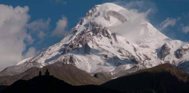 Góry Kazbek, Gruzja
