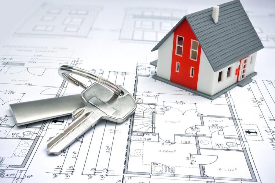 nieruchomości, klucze, dom