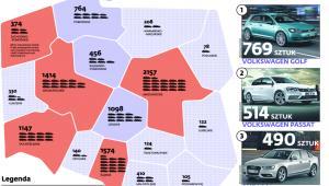 Bogate województwa wabią złodziei aut