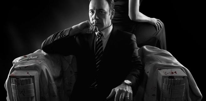 """House of cards"" Robin Wright i Kevin Spacey"
