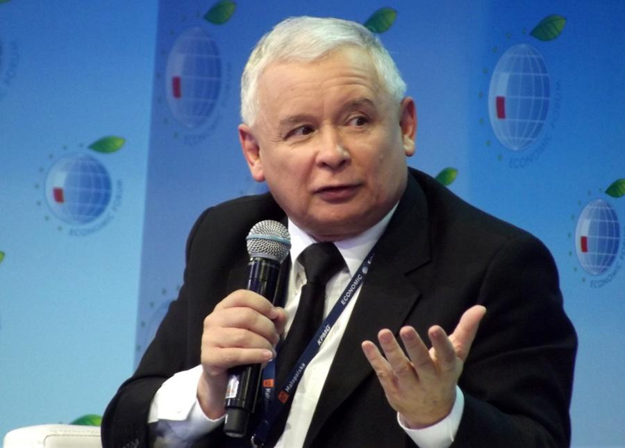 Jarosław Kaczyński. Fot. DrabikPany