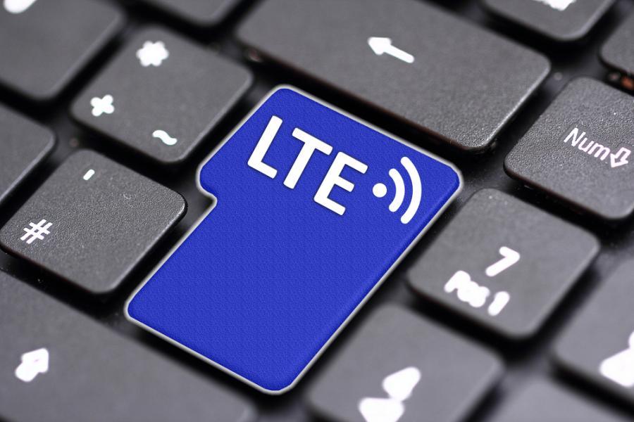 LTE, internet, klawiatura