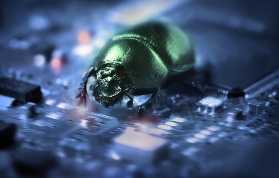 robak, wirus, technologie