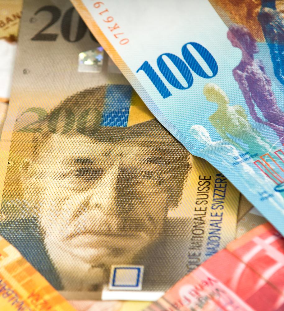 frank szwajcarski, waluta