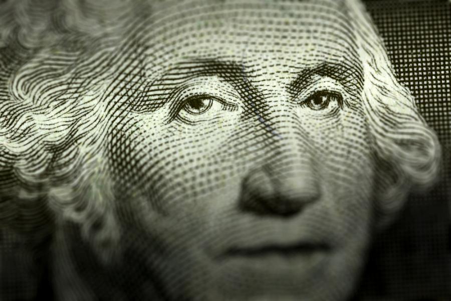 Jerzy Waszyngton, dolar