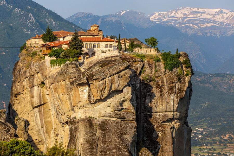 Klasztor w Meteorach