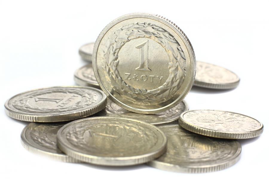 złotówki, monety, pieniądze