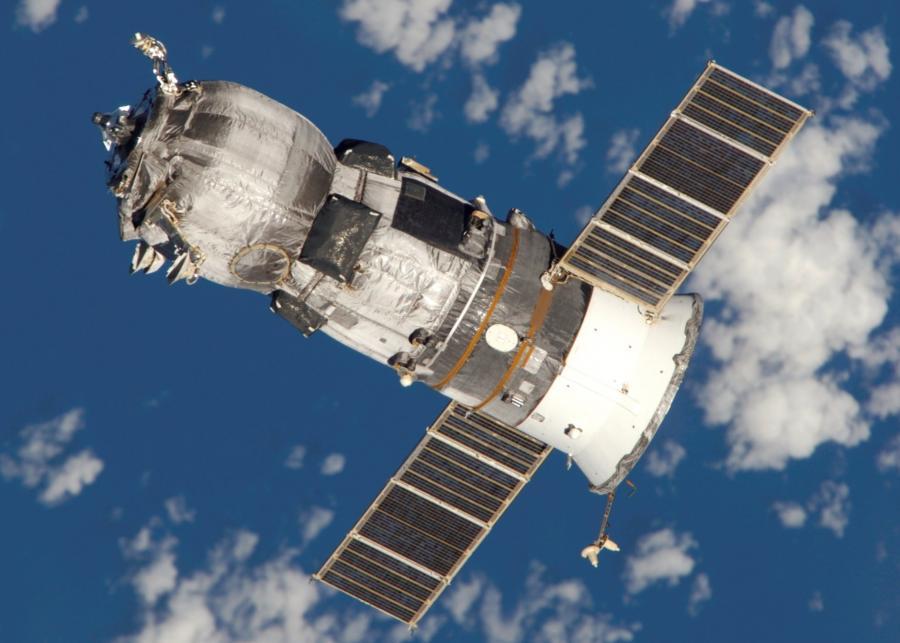 Progress. Fot. NASA